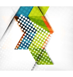 Abstract business geometric pattern vector