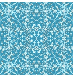 Abstract floral spring pattern vector