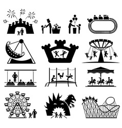 Childhood set pictogram icon set vector