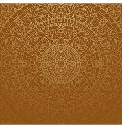Brown oriental background vector