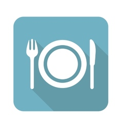 Dishware icon vector