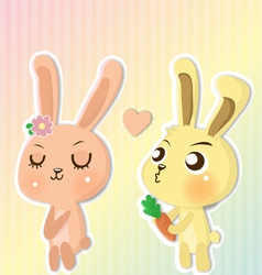 Couple cony vector