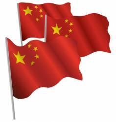 China 3d flag vector