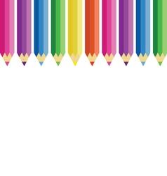 Color pencils set vector