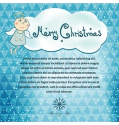 Christmas simple background vector
