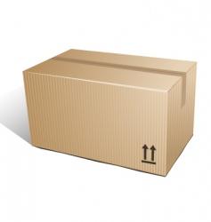 Box carton vector
