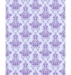 Violet seamless floral texture vector