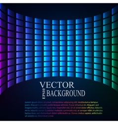Abstract background perspective tiled vector