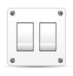 Dual light switch vector