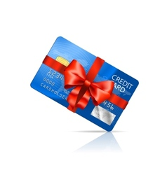 Gift credit card vector