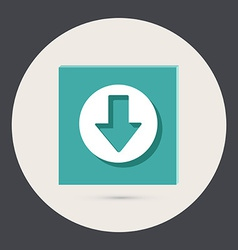 Web arrow vector