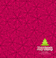 Snow flakes texture design on pink background vector