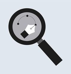 Zoom design vector