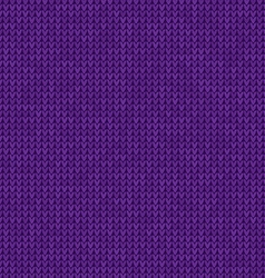 Knitted violet background vector