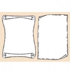 Scrolls vector
