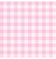 Tile pink plaid decoration background or pattern vector