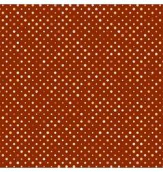 Polka dot old scratch pattern retro styled vector