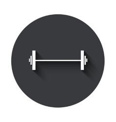 Modern gray circle icon vector