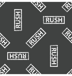 Rubber stamp rush pattern vector