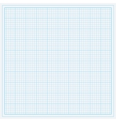 Blue graph paper vector