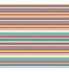 Colorful knitted seamless pattern vector