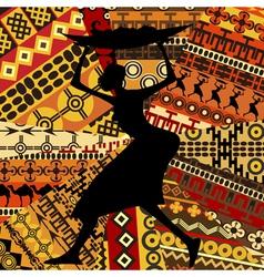 African woman vector