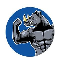 Muscular rhino2 vector