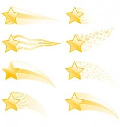 Star tracks vector