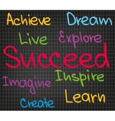Achieve succeed vector