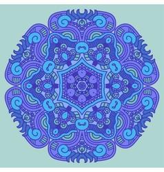 Ornamental round ethnicity pattern vector