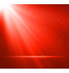 Abstract magic red light background vector