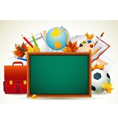 Vetor back to school background vector