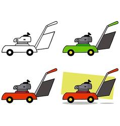 Gardening tools cartoon vector