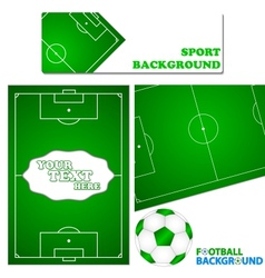 Football set vector