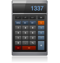 Lassic calculator vector