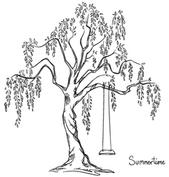 Tree with swing vector