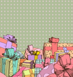 Holiday backgrounds vector