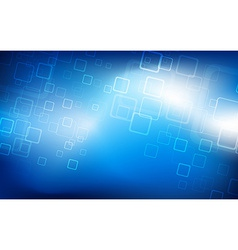 Hi-tech blue background vector