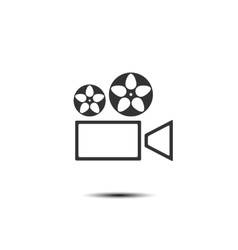 Icon projector vector