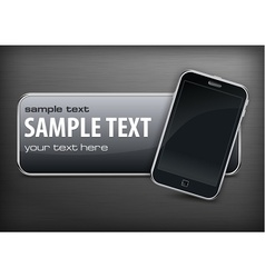 Promotion banner  phone vector