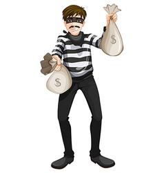 A cash robbery vector