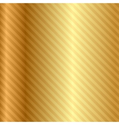 Gold background with stripes vector