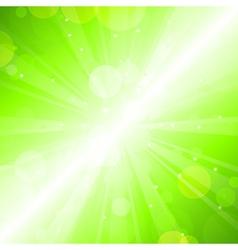 Green blur vector