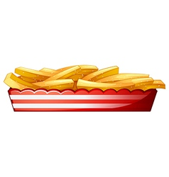 Potato fries vector