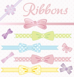 Ribbons converted vector