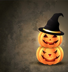 Halloween pumpkin vector