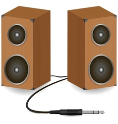 Stereo speakers vector