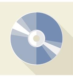 Compact disc icon vector