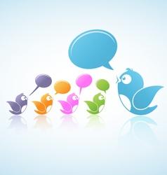 Social media discussion vector
