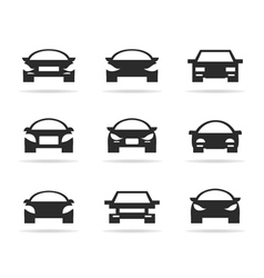 Icon car vector